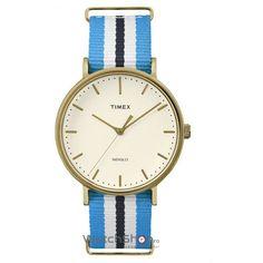 Ceas Timex WEEKENDER TW2P91000 Fairfield Gold