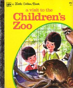 Little Golden Book: A Visit to the Chidren's Zoo