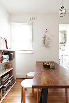 White & wood all day errday | Gemma Cagnacci and Andrew Meehan, Sydney, Australia | Design*Sponge