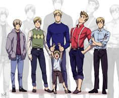 Dads and uncles by *Hubedihubbe on deviantART