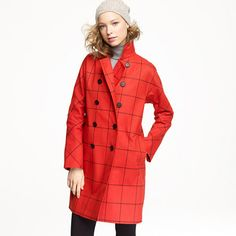 Mackintosh® Rousay tattersall coat in wool on sale for $899.99  gorgeous, but not for that price!