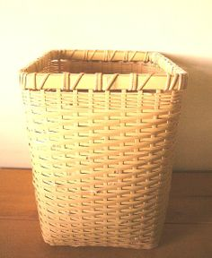 Quality In Dynamic Plastic Braided Rattan Style 45l Laundry Basket Hamper Storage Box Bin Sky Blue Excellent
