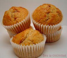 27 recetas de muffins y magdalenas