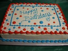 Cheetah Birthday Cakes, 15th Birthday Cakes, Birthday Sheet Cakes, Cake Designs For Boy, Sheet Cake Designs, Cake Design For Men, Birthday Cake Decorating, Cake Decorating Tips, Pastel Rectangular