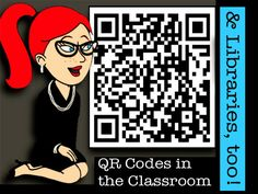 QR_Code_FrontPageBlue by The Daring Librarian, via Flickr