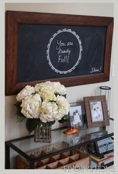 You are Beauty Full Chalkboard.  From the blog:  Finding Home.