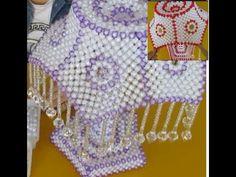علبه مناديل بيت كبير beaded Tissue Box فيديو صيني )Doha Anwar - YouTube Beading Projects, Beading Tutorials, Beading Patterns, Sleeves Designs For Dresses, Sleeve Designs, Beaded Bags, Beaded Jewelry, Beaded Bracelets, Beaded Crafts