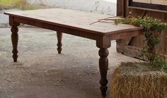 Old Pine Farm Table - a must for any large family! $1969.