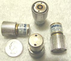 Dummy Loads; Midwest Microwave model 2052 termination, 50 ohms, DC-18 Ghz; Part No. APC7-08