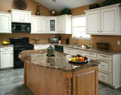 Kitchen Cabinet Refacing Job   – A Smart and Sensible Move.  --Click to read this article--