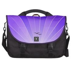 "Purple Sunbeam & Seagulls ""FlyAway"" Bag"