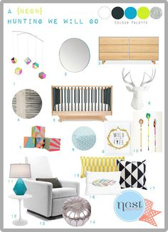Love this! Honey   Fitz Nursery Design Series