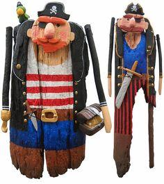 Gente de madeira