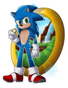 Movie Sonic by MajoraTobi on DeviantArt - Movie Sonic by MajoraTobi on DeviantArt - Tails Sonic The Hedgehog, Hedgehog Movie, Silver The Hedgehog, Shadow The Hedgehog, Sonic The Movie, Sonic Party, Sonic Dash, Sonic Unleashed, Green Tea And Honey