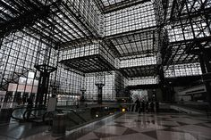 Javits convention center, New York.    Designed by I.M. Pei.