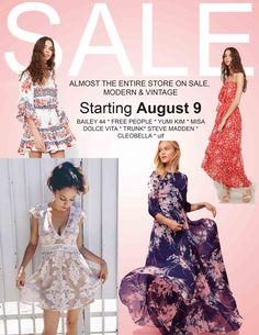 988f1c04894 Starts August Almost everything is on sale starting Wednesday! Polkadots    Moonbeams
