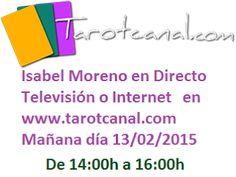 Mediumnidad y Videncia Isabel Moreno Nicolas: Directo TV Isabel Moreno Mañana
