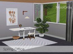 MooiGray@TSR - Spring Office #Sims3