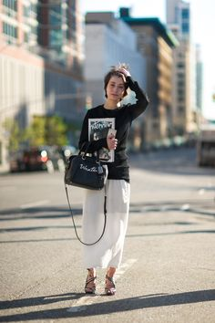 #500 Marie Pascal after Coach 2016SS New York Fashion Week.