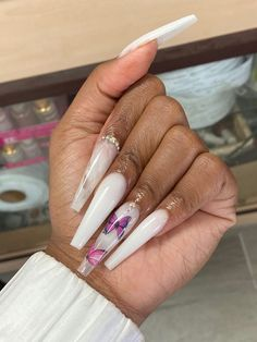 Simple Acrylic Nails, Summer Acrylic Nails, Best Acrylic Nails, Acrylic Nail Designs, Aycrlic Nails, Dope Nails, Swag Nails, Stiletto Nails, Coffin Nails