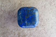 Large Square Lapis Lazuli Stone Knob by GadoGadoLtdEdition on Etsy