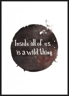Wild thing, poster by Sanna Wieslander
