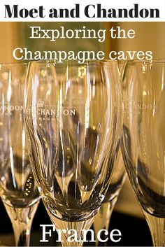 Visiting Epernay in the French Champagne region isn't just about drinking. The area is rich in history and Moet and Chandon, with it's caves is a key part of that.