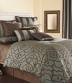"I love Candice Olson's designs - this is her beautiful ""Adagio"" bedding collection."