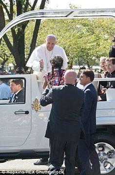 Pope Francis and Sophie Cruz