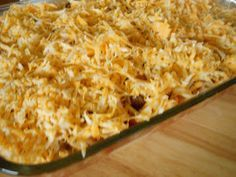 Million Dollar Casserole Recipe No meat but you can add ground beef