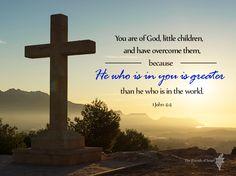 1 John 4:4 Scripture Verse
