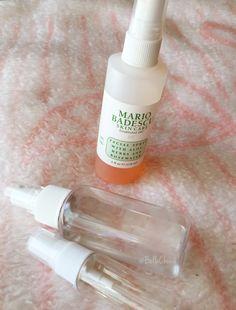 DIY Mario Badescu facial spray