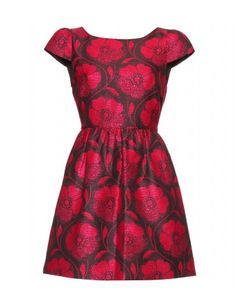 Alice + Olivia - NELLY JACQUARD DRESS - mytheresa.com GmbH