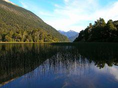 Lago Queñi, Neuquen, Patagonia, a un pasito de la Ruta 40. San Martín de los Andes. Argentina