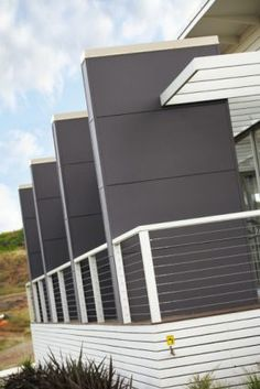 Scyon walls are a range of attractive and durable cement-based cladding and weatherboard wall products for modern Australian homes including new builds and renovations. External Cladding, Australian Homes, New Builds, Smart Home, Townhouse, Modern Design, New Homes, Around The Worlds, Stairs