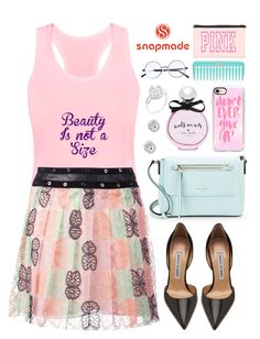 """Snapmade (03)"" by itsybitsy62 ❤ liked on Polyvore featuring Kate Spade, Giamba, Manolo Blahnik and Casetify"