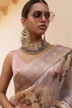 Sabyasachi 2019 Destination Wedding Lehengas & Other Outfits - Indian Wedding Jewelry, Indian Wedding Outfits, Indian Outfits, Indian Bridal, Sabyasachi Sarees, Indian Sarees, Lehenga Choli, Sari, Traditional Indian Jewellery