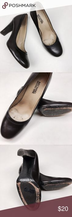 Dark Brown Michael Kors Heels Used in Good Condition/ No Trades/ No PayPal/Normal Wear/ Smoke & Pet Free Home/ Offers Welcome / please see photos of wear MICHAEL Michael Kors Shoes Heels