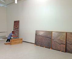 Montaje de la exposición UNCUT de Carlos Irijalba _ Fundación Cerezales by Fundación Cerezales Antonino y Cinia, via Flickr
