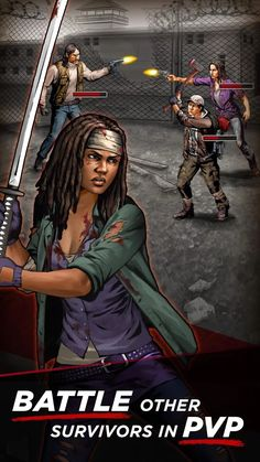 Makers of #TheWalkingDead hope to fill #TV and #film jargon with the #creativity of mobile #gaming