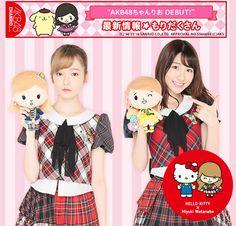 AKB48 Chanrio New Campaign #AKB48ちゃんりお #ak48 #chanrio #paruru #島崎遥香 #yukirin #柏木由紀 by akb48daily