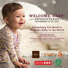 Win over $3000 in prizing for your new little bundle of joy!