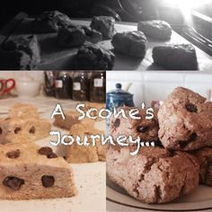 #dandelionbakeshop Dairy free, wheat free, and gluten free! Just a behind the scene's look at what a scone goes through ;)
