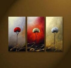 Tree of Life Abstract Wall Canvas Art Sets Painting for Home Decoration Hand Painted Oil Painting Modern Art Large Canvas Wall Art 3 Piece Canvas Art Unstretch and No Frame 3 Piece Canvas Art, 3 Piece Painting, 3 Piece Wall Art, Hand Painting Art, Large Painting, Oil Painting On Canvas, Canvas Wall Art, Large Canvas, Acrylic Canvas