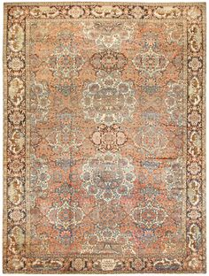 Antique Persian Bakhtiari Rug 50103