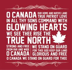 pinner said; Canada Think my neighbours could have used these words on Canada day. they attempted to sing oh Canada (in beer voices) Canadian Things, I Am Canadian, Canadian History, Canadian Humour, Canadian Food, Canadian Girls, Westminster, Canadian National Anthem, Canada Day Party