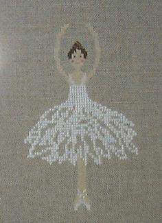 ballerina cross stitch