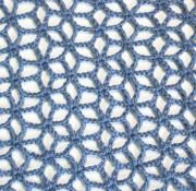 flower lace stitch crochet free pattern