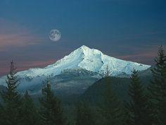 hoodmoon01 by Gary Randall.  Love this pic of Mt. Hood