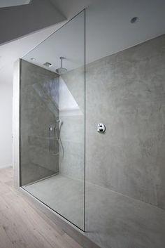 Minimalistische badkamers